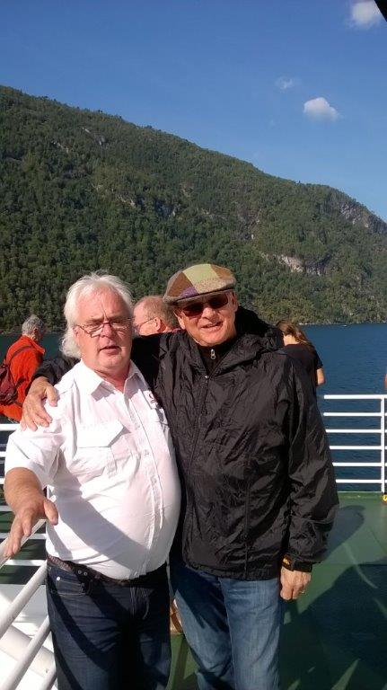 Friendship begun,  Terry and Terje