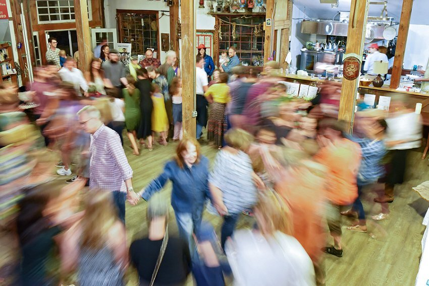 Week 39, The Contra Dance, Connecticut (This image will be on next weeks post, but as I will not be here to put it in dropbox, I added it early