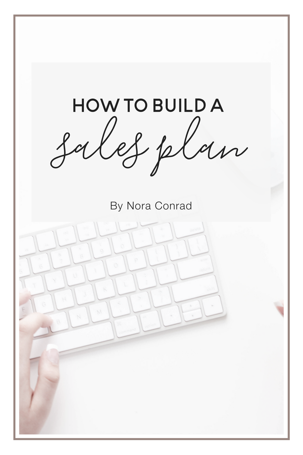 No, not a sales funnel. That makes it sound like you're herding people into your evil lair. We're building a plan, a path, a guide for your customers. Much better.