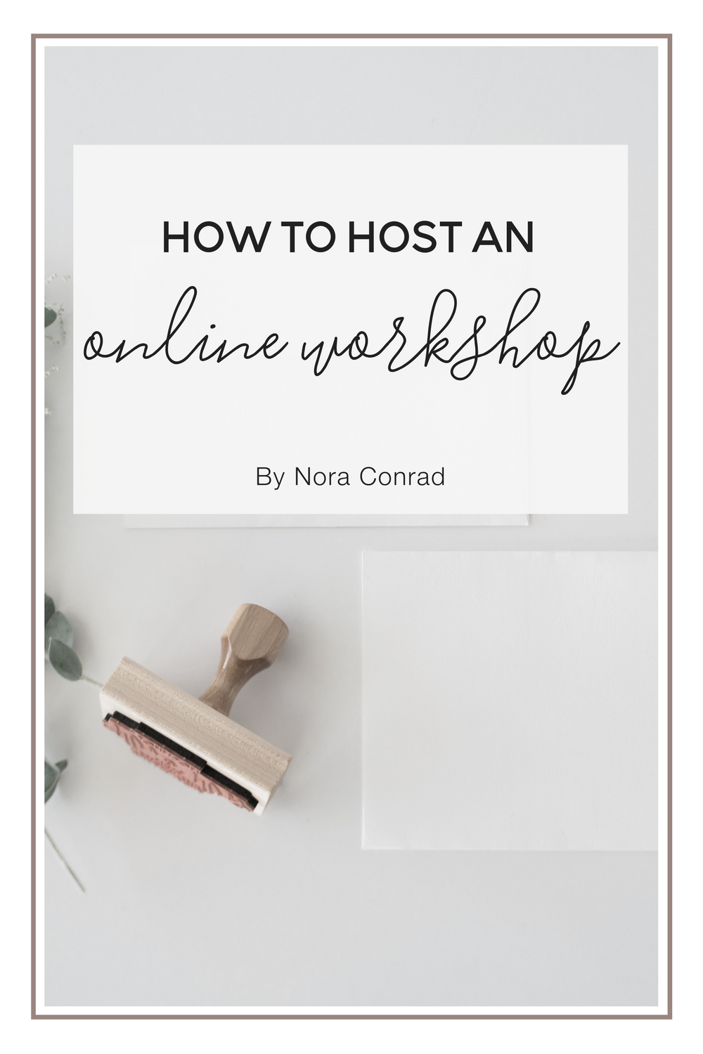 You've probably heard of a workshop or a webinar. They're blowing up right now in the small business world as a fantastic way to get in front of your audience in an approachable and authentic way. In this post I'll show you extactly what programs I use, how I prep for a webinar and how I get an audience to show up.