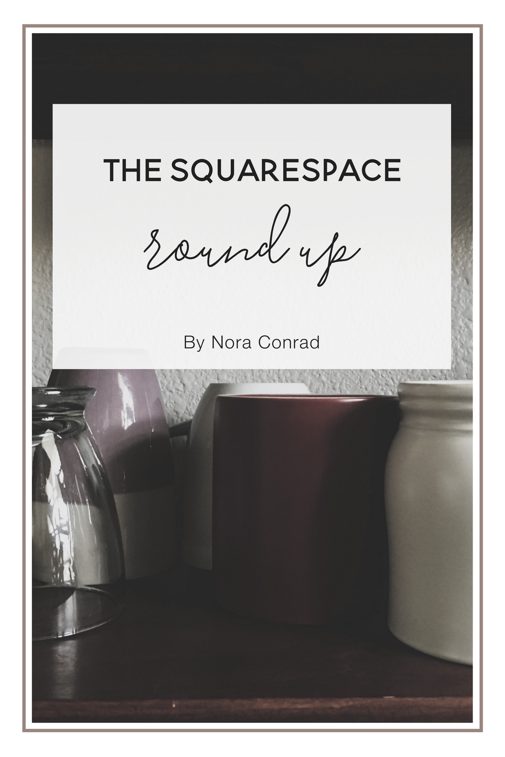 I've seen more and more people hopping on the Squarespace wagon, so hopefully this will be a great resource any time you have a question about it.
