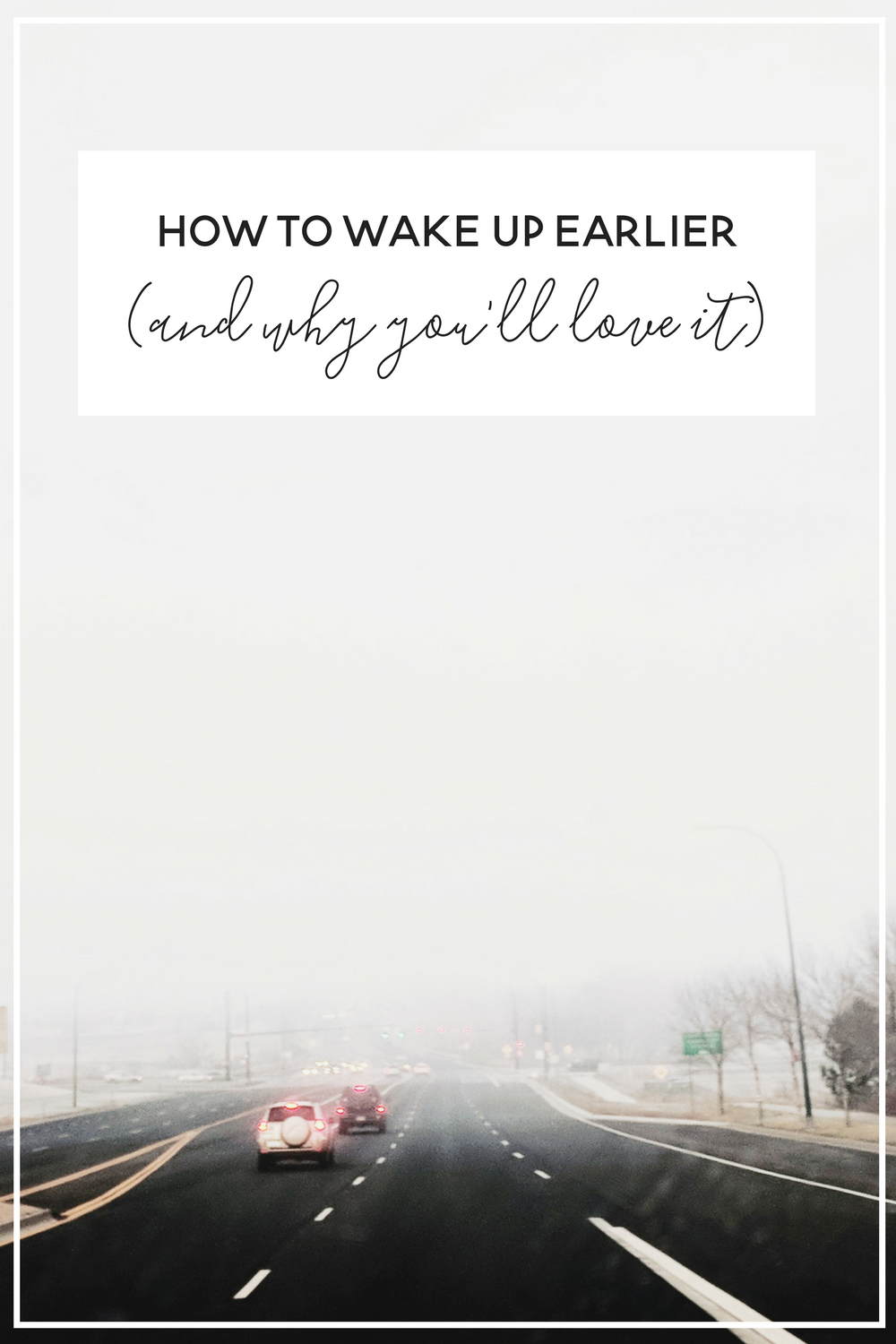 How to Wake Up Earlier (And what to do with that time)