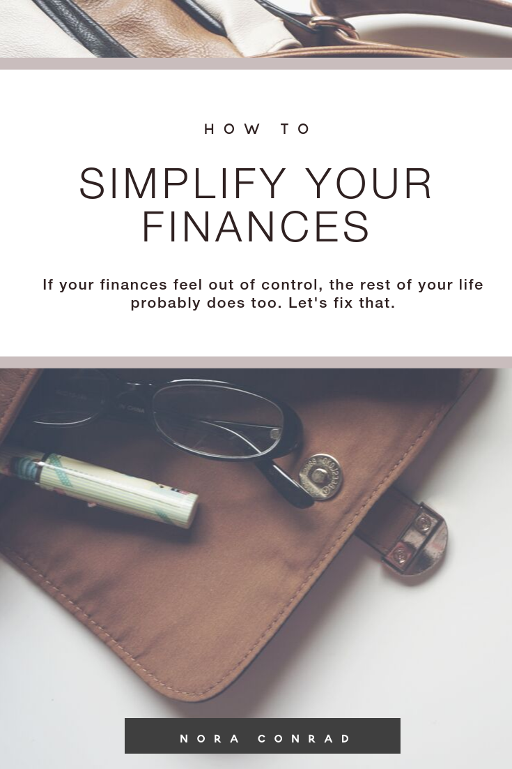 financial stress is one of the most common reasons for anxiety, arguments in marriages and decreased mental health. If your finances feel out of control, the rest of your life probably does too.