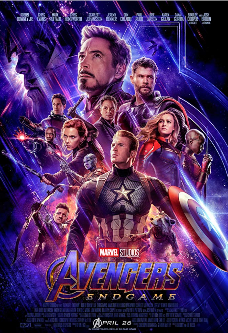 Avengers: Endgame - Legacy Effects On-Set Coordinator