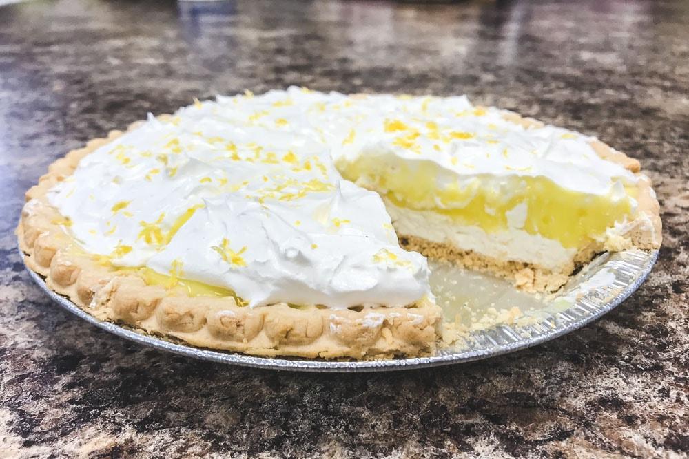 Lemon Lush Pie