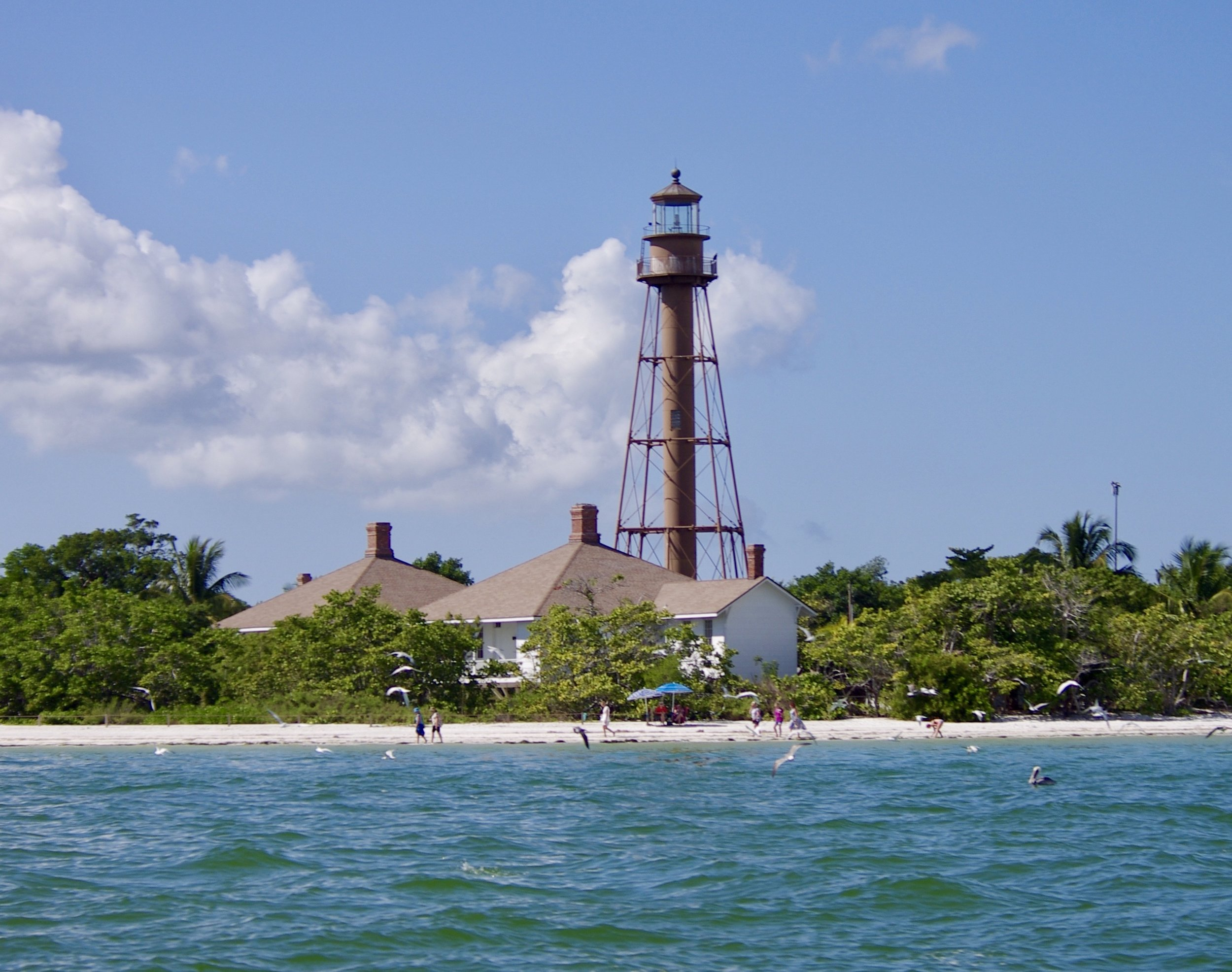 THE HISTORIC SANIBEL LIGHTHOUSE