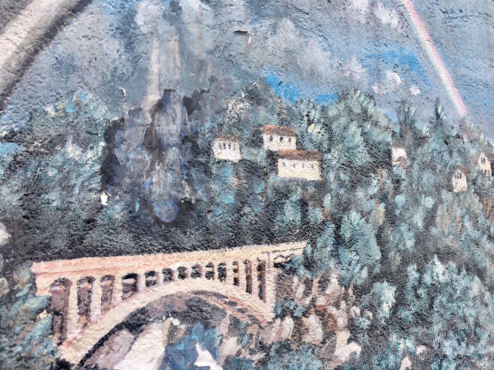 Historic Folsom # 3 - Rainbow Bridge in Mural