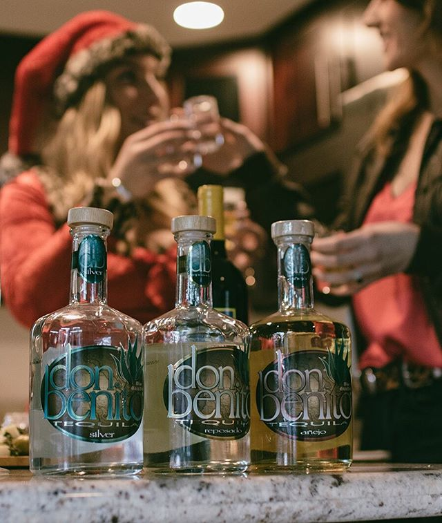 What everyone should have on their Christmas wish list #silver #reposado #anejo #DonBenitoTequila