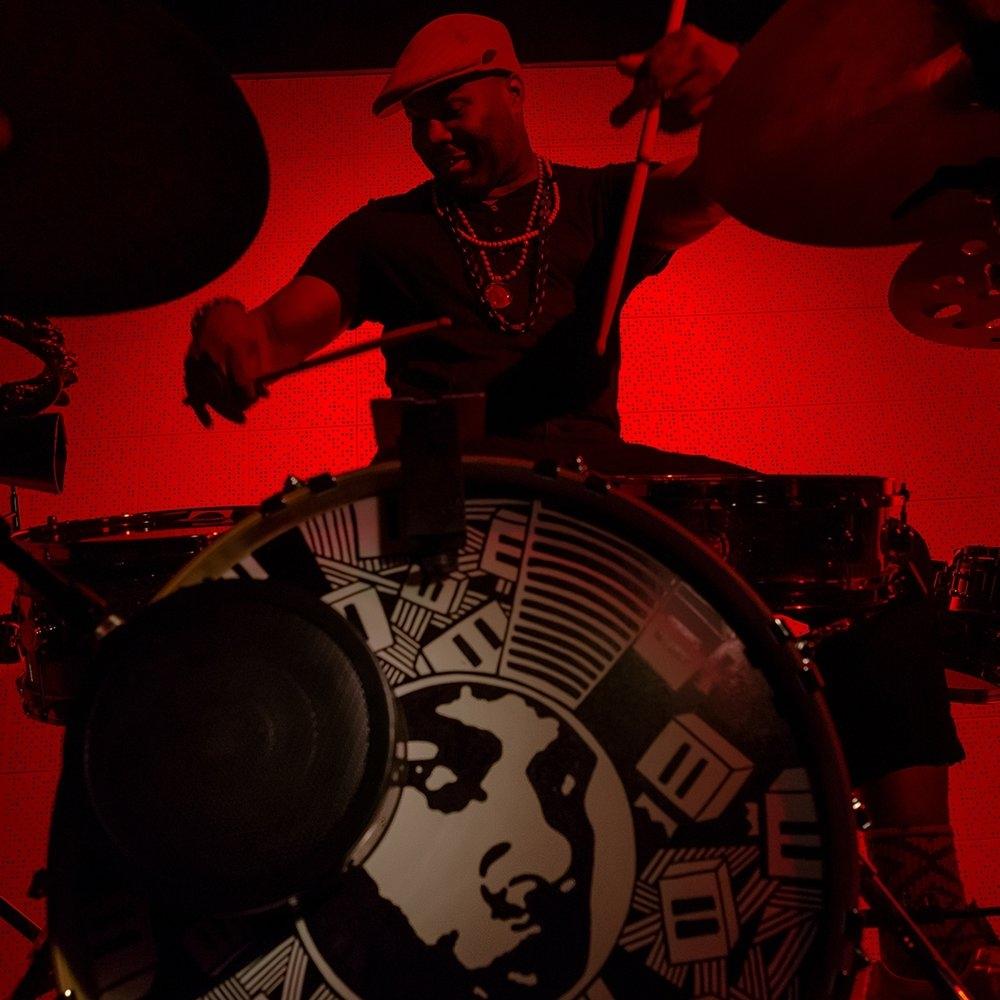 DARU JONES: (drummer, producer, music director) Jack White, Jamie Lidell, DMD
