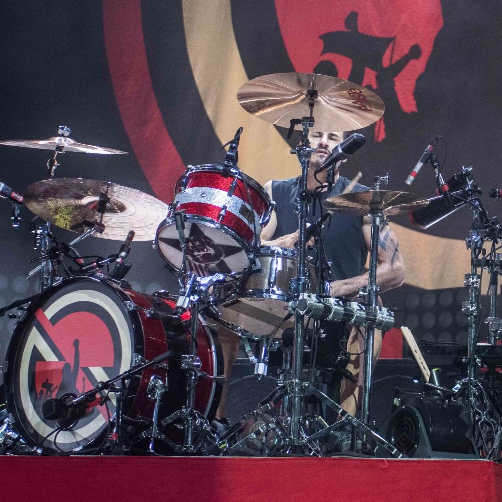 BRAD WILK: (drummer) Prophets of Rage, Audioslave, RATM
