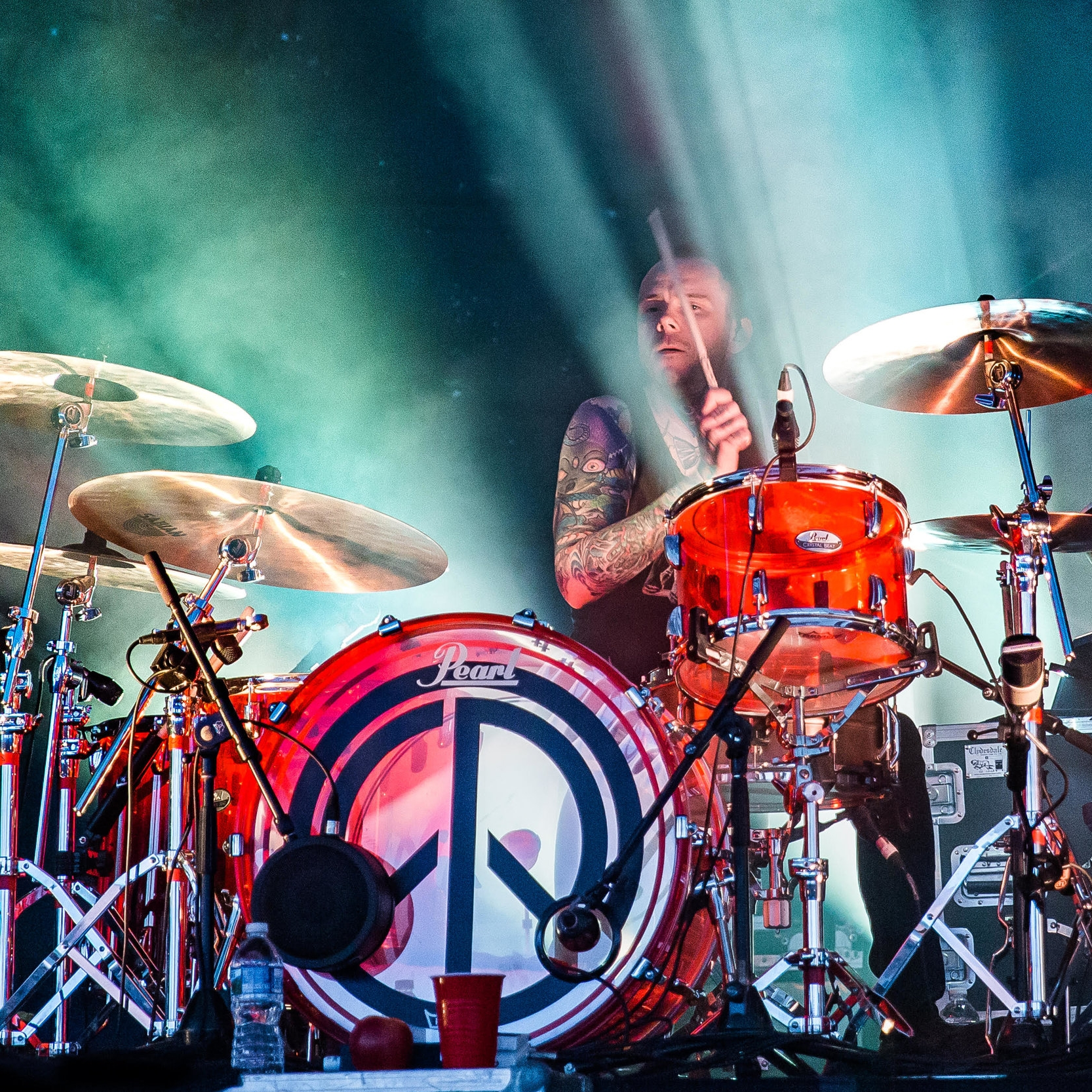 JASON PIERCE: (drummer) Our Lady Peace, Paramore, Justin Bieber