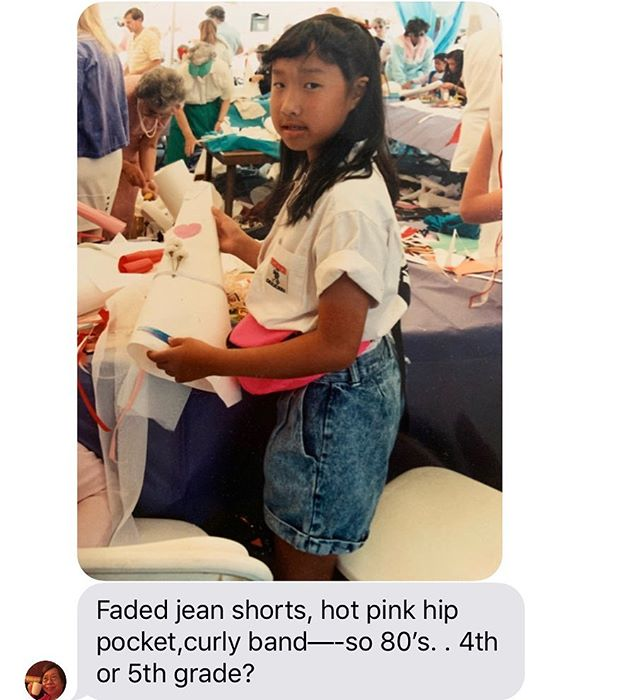 ⚡️on trend in 1980s & 2019 ⚡️ behold a text message I just received from my mom. #servinglewks