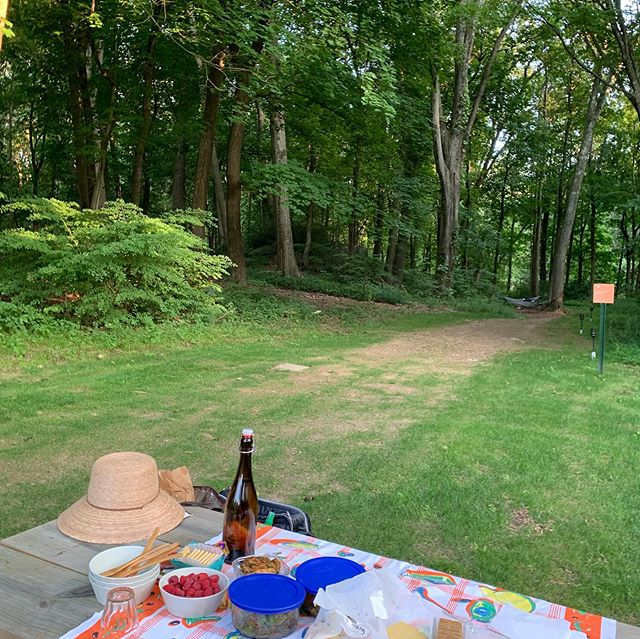 When you start your weekend off by meeting friends who prepared a picnic at the most magical of places! Also guess who just turned in their book manuscript (@cih0)and who just had their PhD dissertation signed off on (soon to be Dr. Jesse D Watson)!