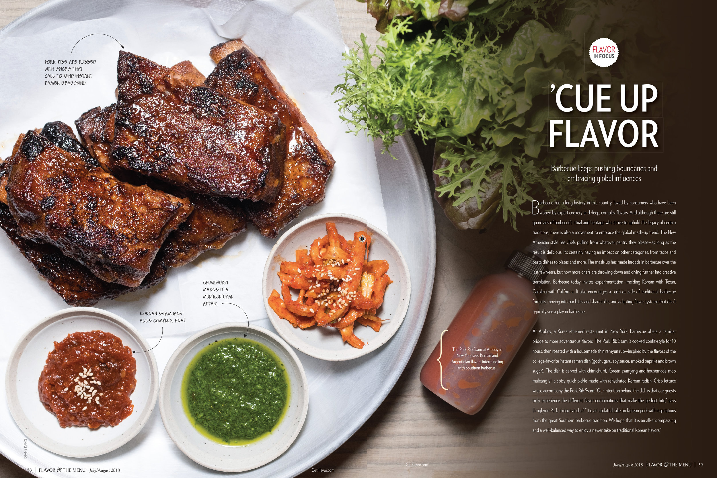 ATOBOY Feature for Flavor & the Menu | July/August 2018