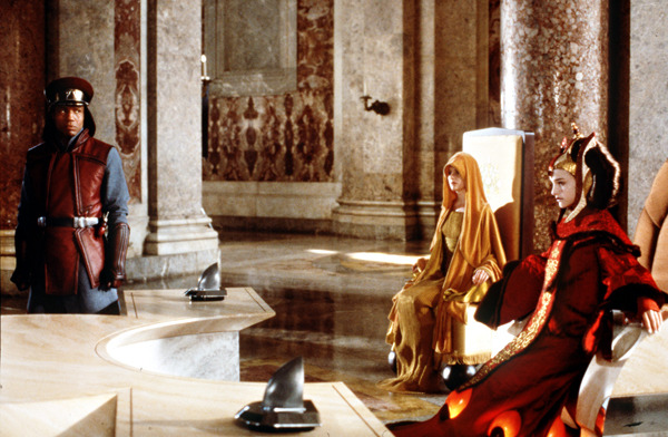 Caserta is the setting for Queen Amidala's royal palace