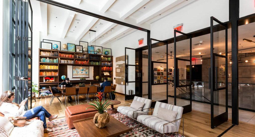 Arlo NoMad Studio (2nd fl. Hotel Cafe)  | Source: Oyster Hotels