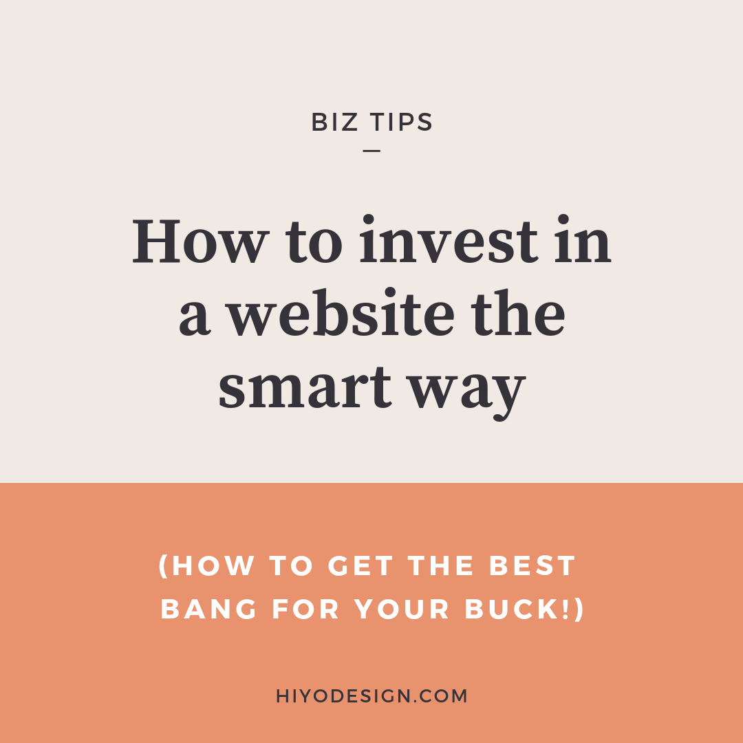 How to invest in a website the smart way