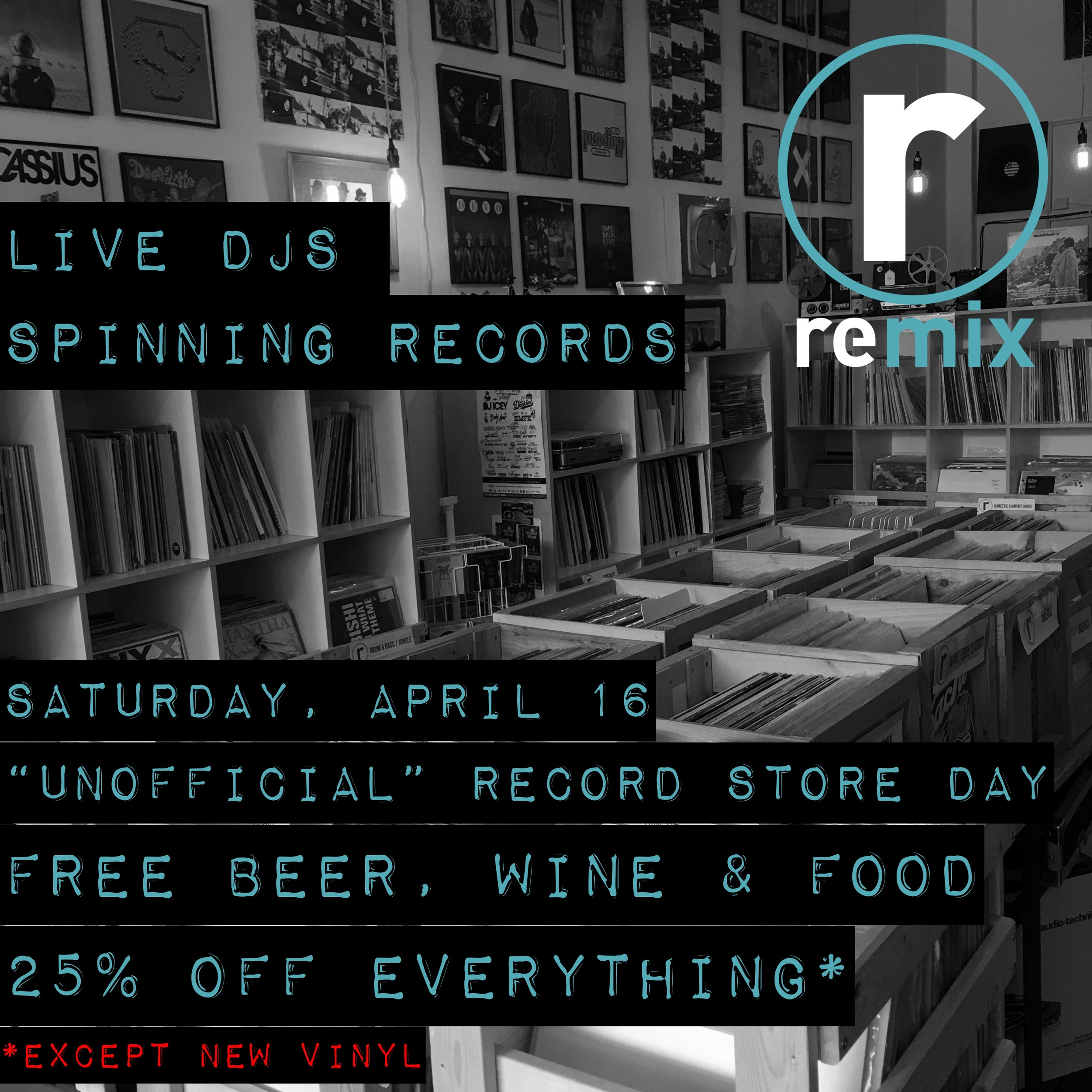 UNOFFICIAL RECORD STORE DAY!