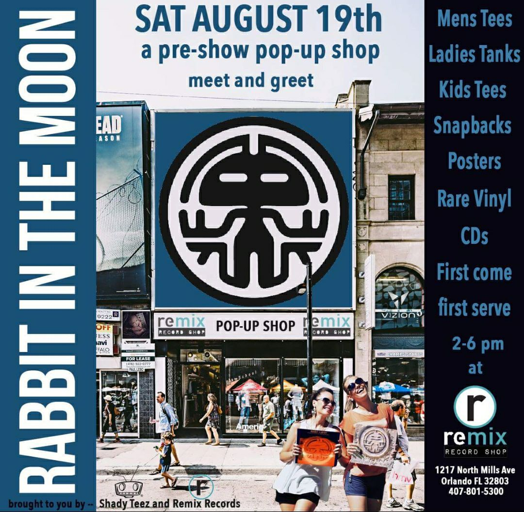 RABBIT IN THE MOON MEET & GREET @REMIX
