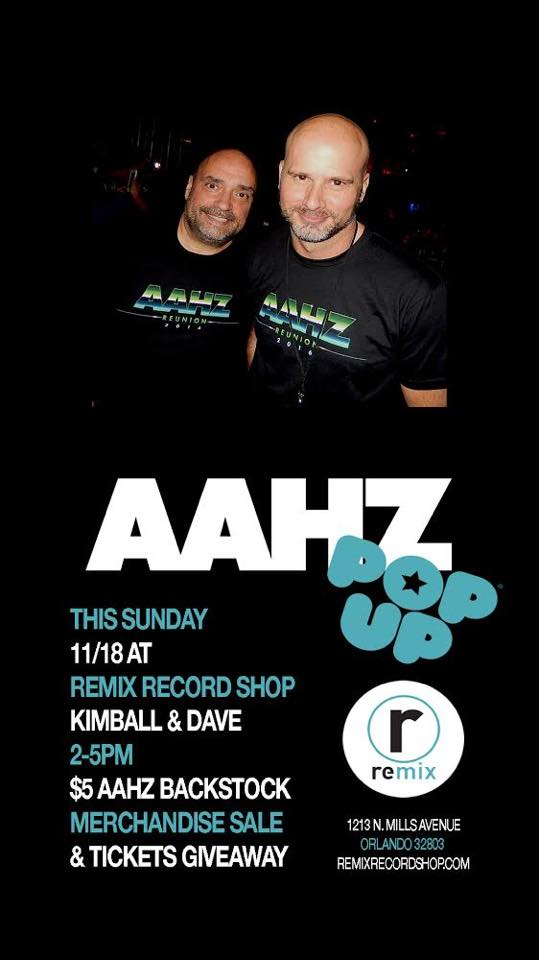 AAHZ In-Store Pop-Up