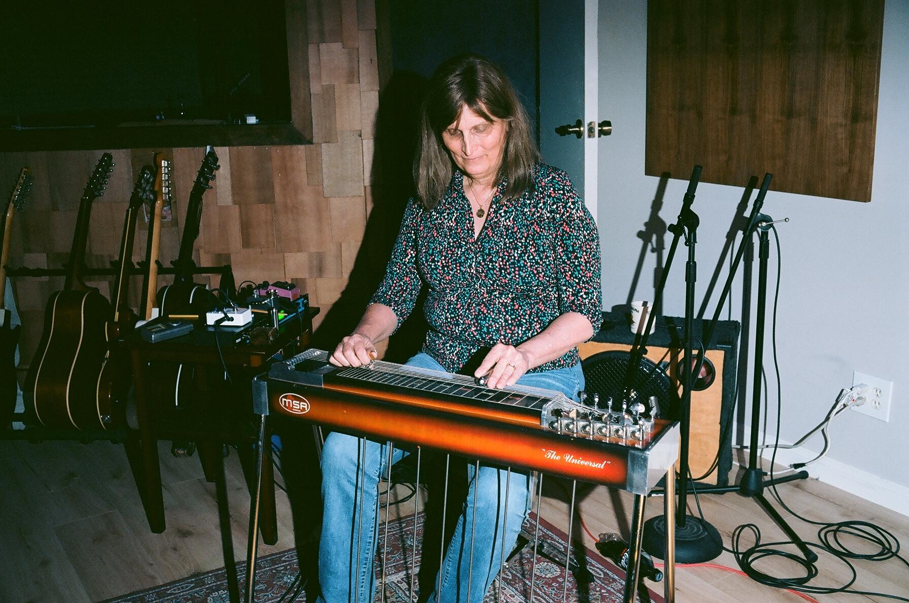 Pedal Steel Guitarist Susan Alcorn (Photo by Devin O'Brien)