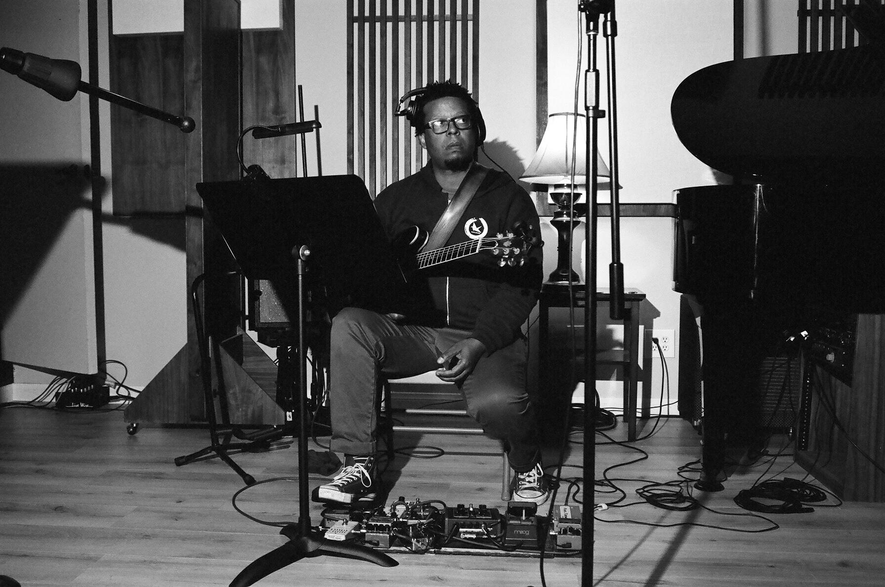 Jazz guitarist Jeff Parker (Photo by Devin O'Brien)