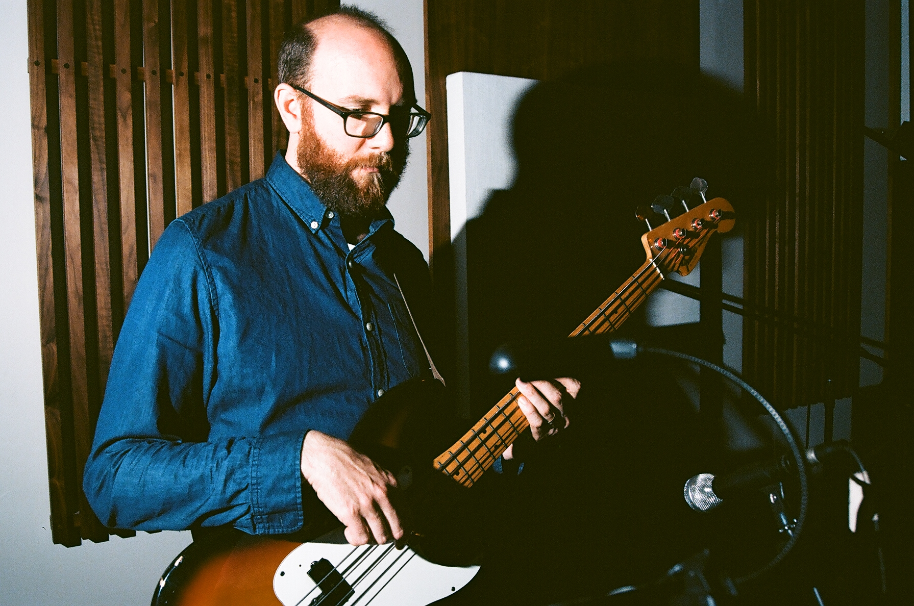 Bassist David Tranchina (Photo by Devin O'Brien)