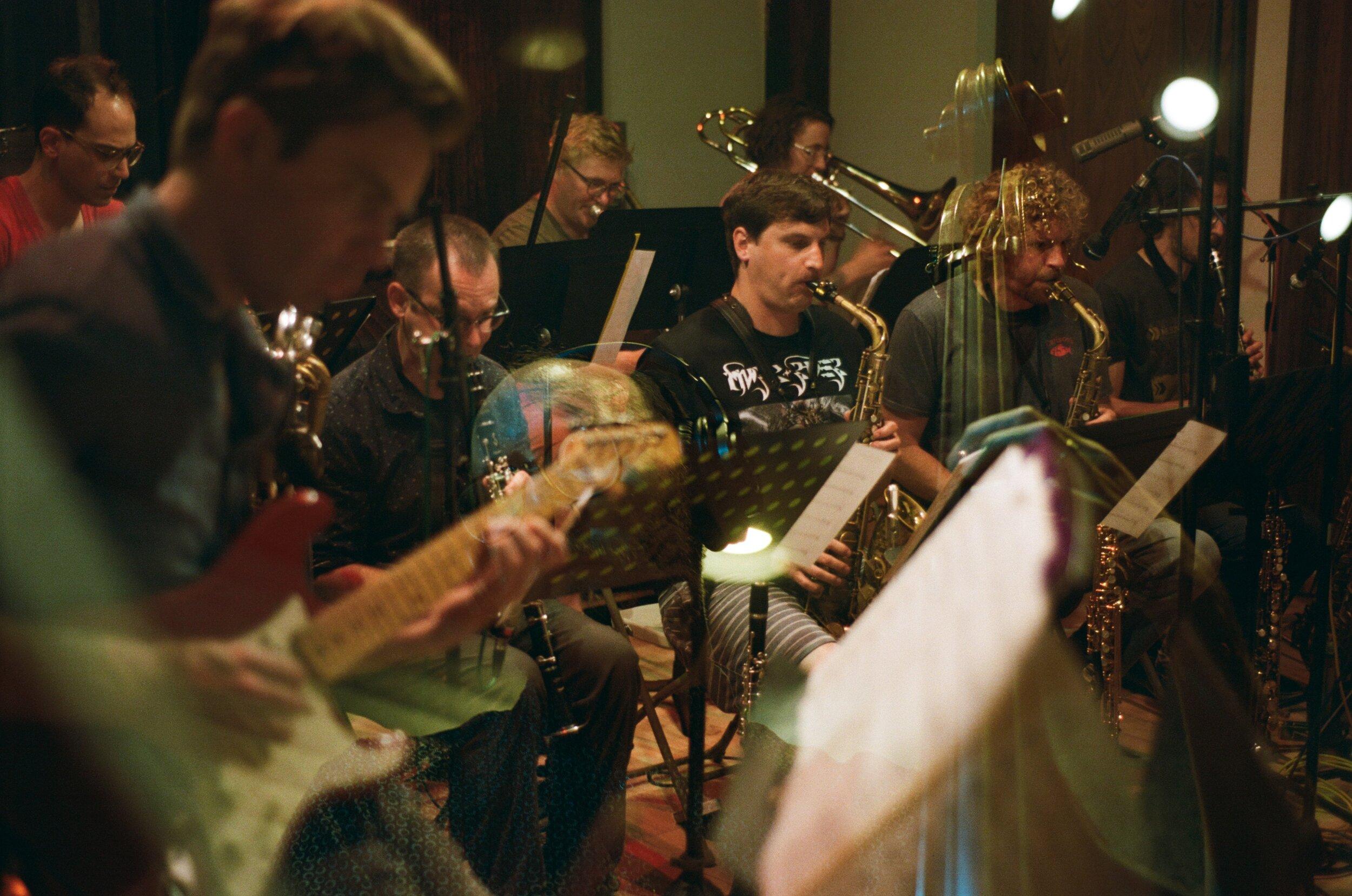 David Tranchina Large-ish Ensemble (Photo by Devin O'Brien)