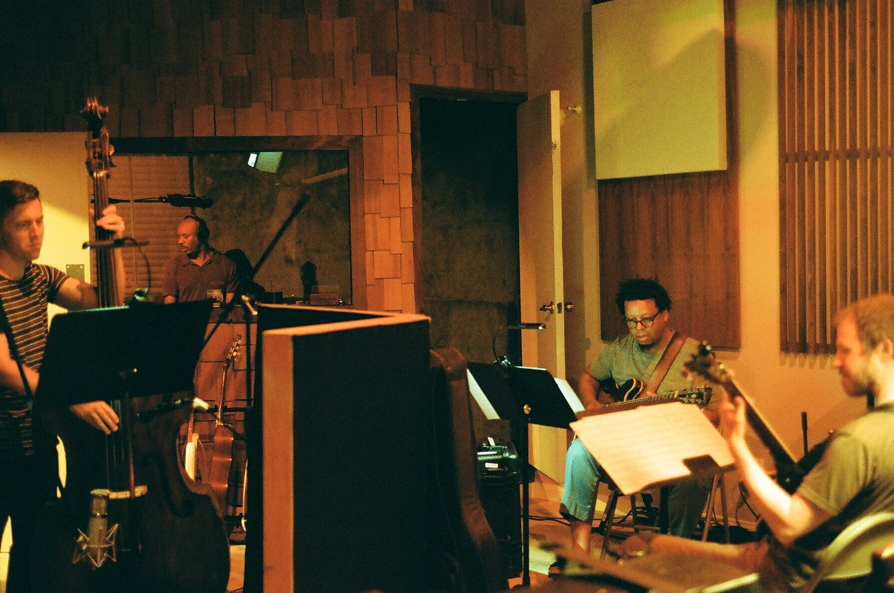 Billy Mohler, Chad Taylor, Jeff Parker, and David Lord (Photo by Devin O'Brien)