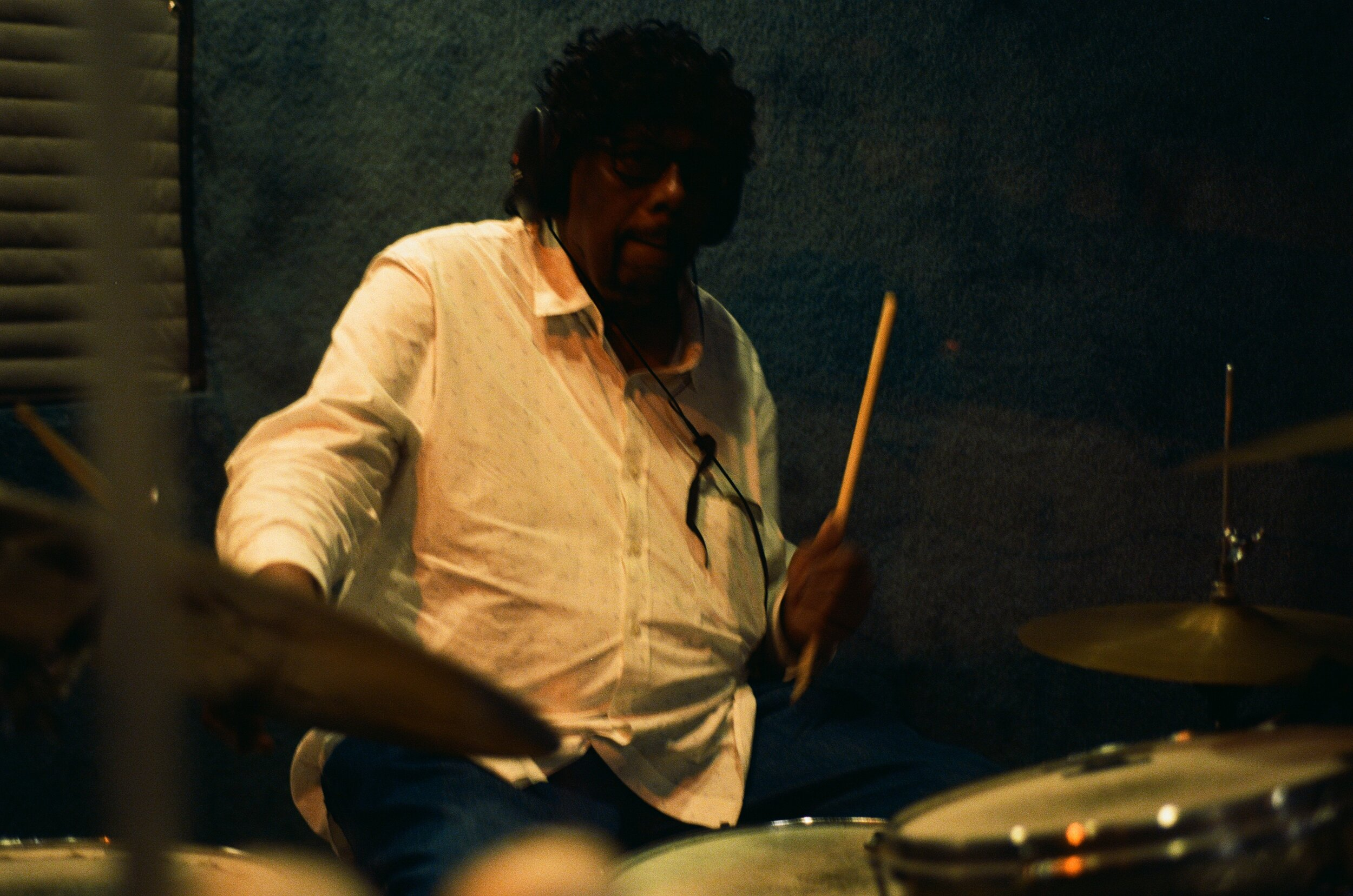 Drum legend James Gadson (Photo by Devin O'Brien)