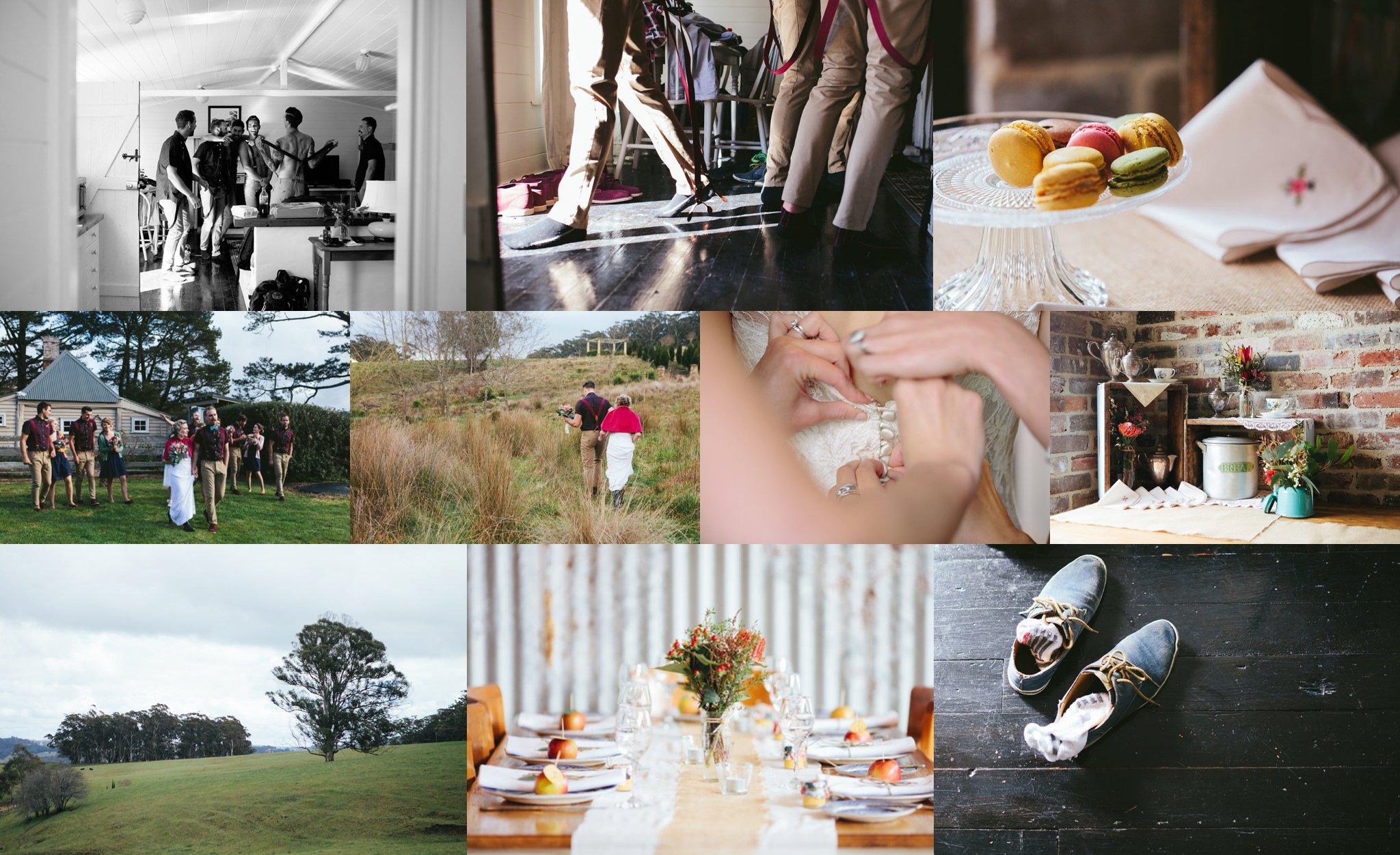 Loren + Calvin's Fitzroy Falls, NSW wedding