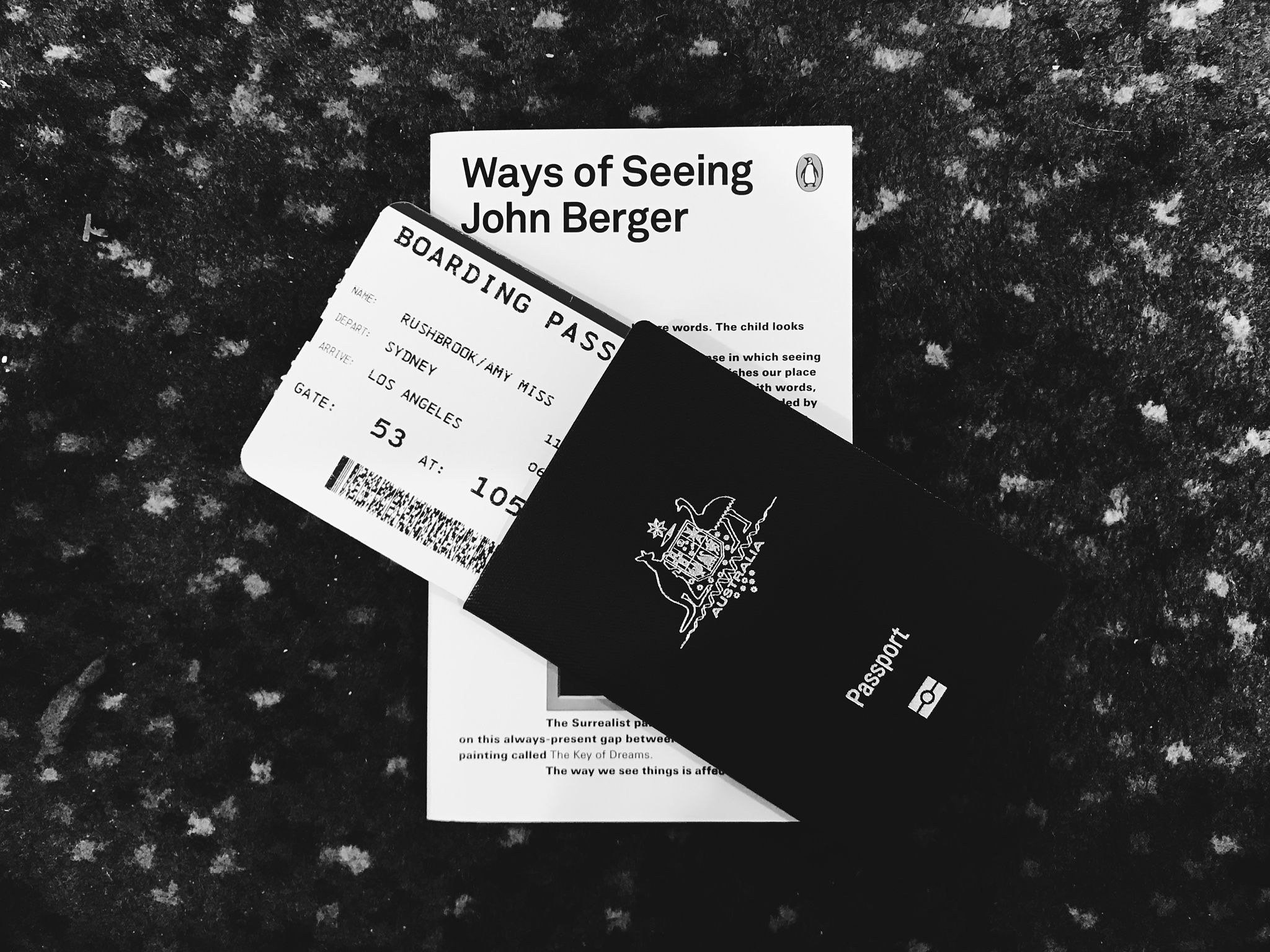 Flight ready! I flew Melbourne - Sydney then onto LAX.