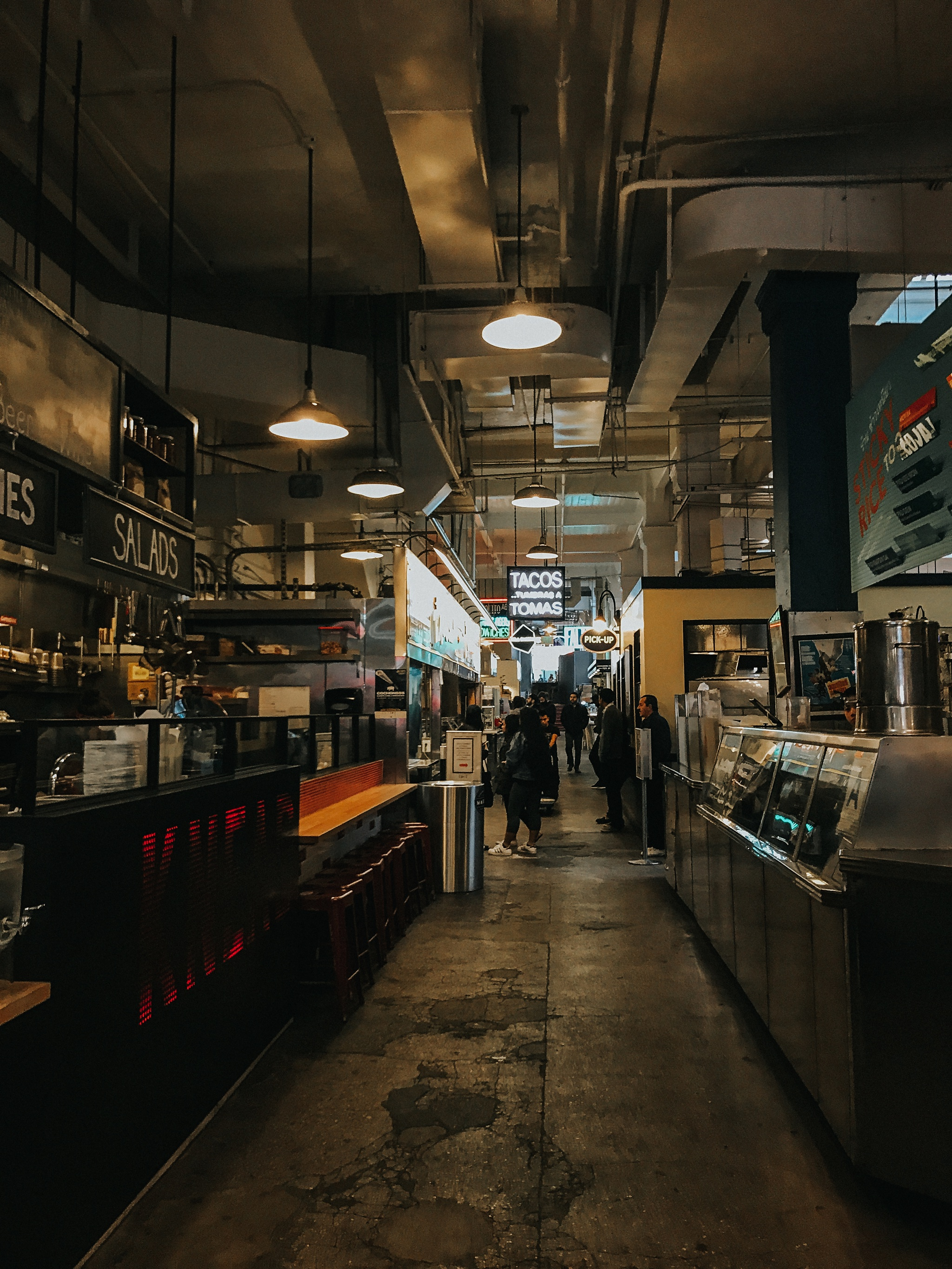 First stop back in LA was Grand Central Market for some coffee and breakfast.
