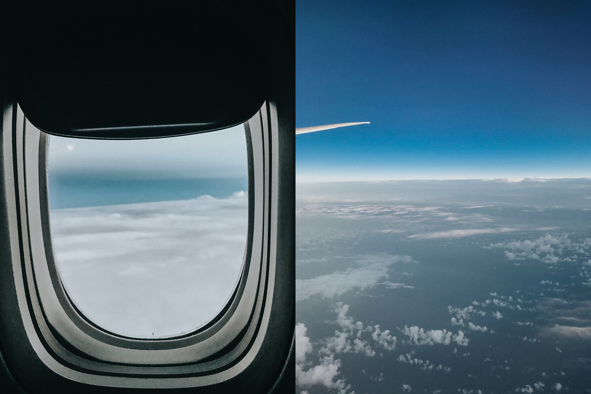Obligatory photos from the skies.
