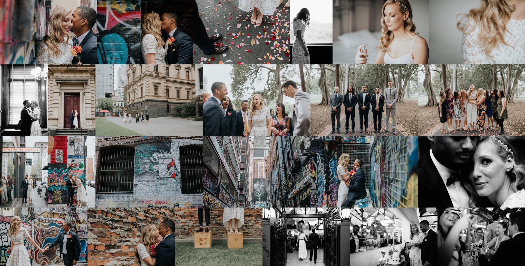 Cassie + Xander's Melbourne CBD wedding