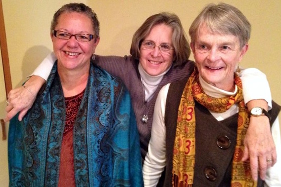 Ivy Thomas, Christina Baldwin, and Ann Linnea