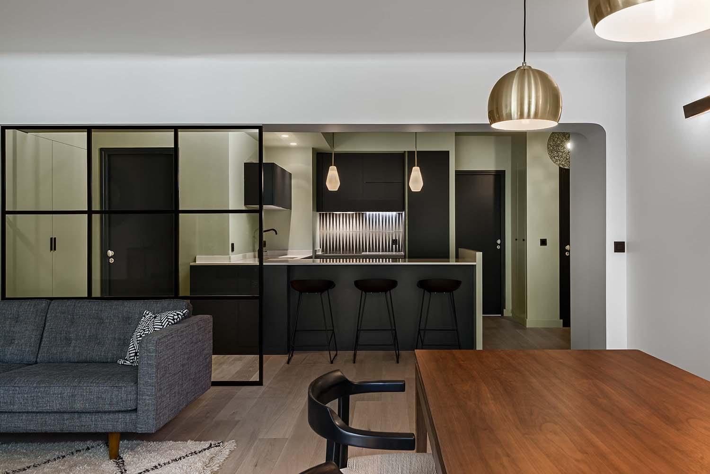 Appartement parisien  , 8ème - décoratrice Caroline Andréoni