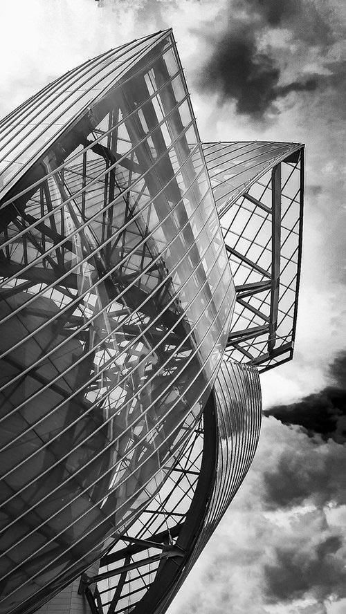 Fondation Louis Vuitton Paris - Architecte Frank Gehry