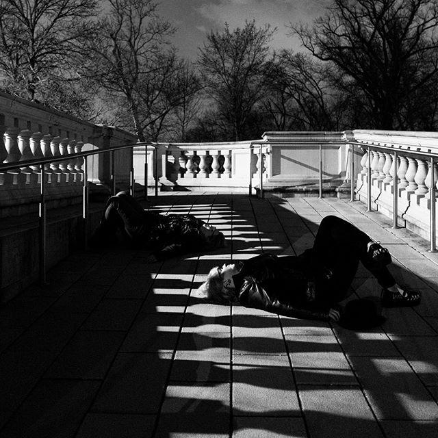 Day 069: Part two of three. Little bit of shadow play. . . #day69 #thewholesituation #2018 #365 #365photochallenge #tattoos #tattooedladies #stl #stlouis #stlouisphotographers #selfie #butfirstletustakeaselfie #weirdos #roomies #sisterfromanothermister #twopeasinapod #canon5dmarkii #exploreyourcity #forestpark #grandbasin #technicaldifficulties #shadowplay #part2of3