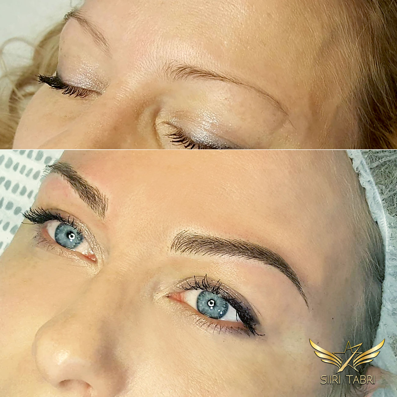 SharpBrows Light microblading. In Scandinavia it is very common that girls' own brows are wear and thin. With Light microblading it is still possible to achieve bold, lush and natural results