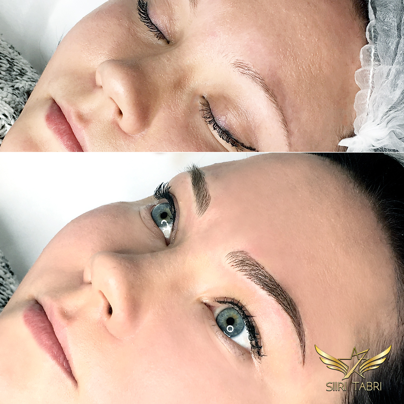 SharpBrows Light microbalding - Just another example how Light microblading is able to change everything in face.