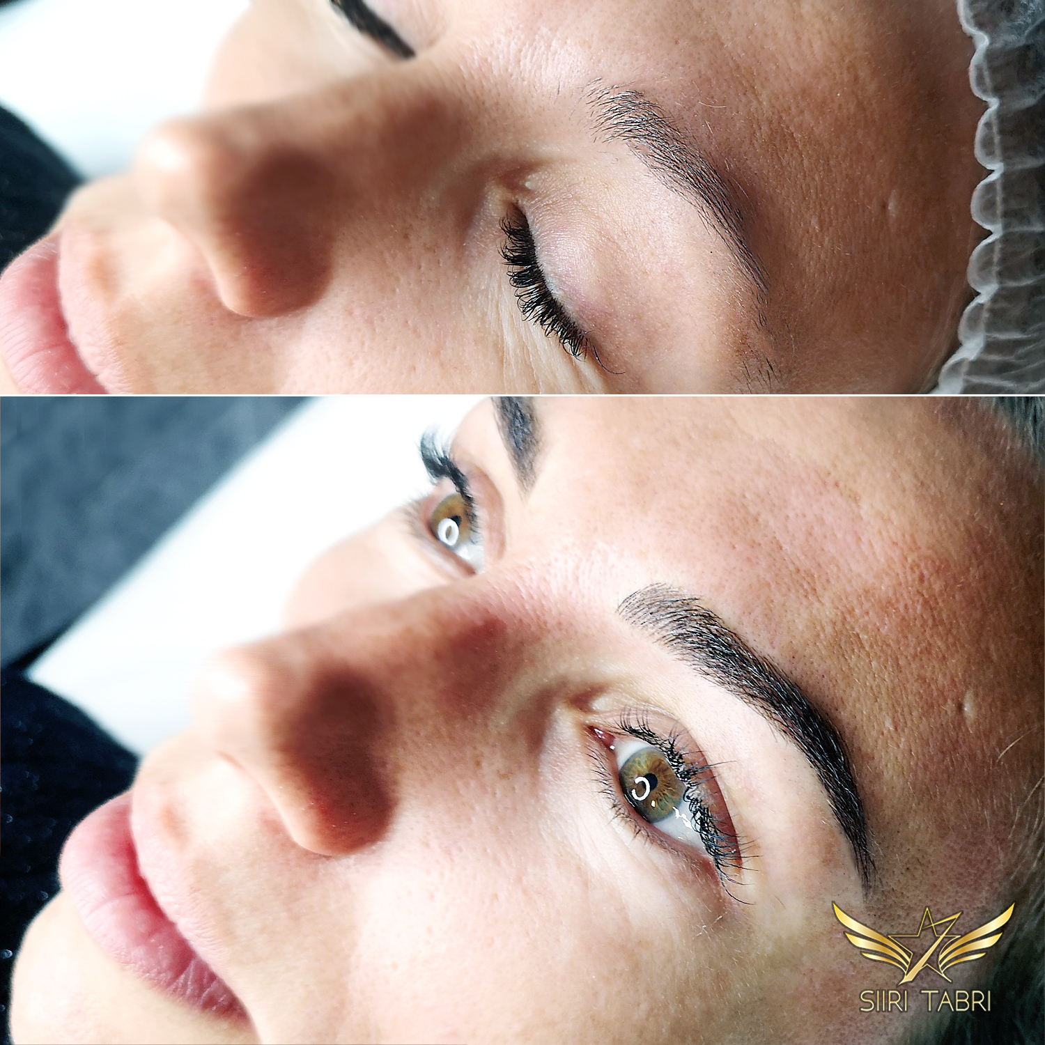 Light microblading. Just another change with Light microblading.