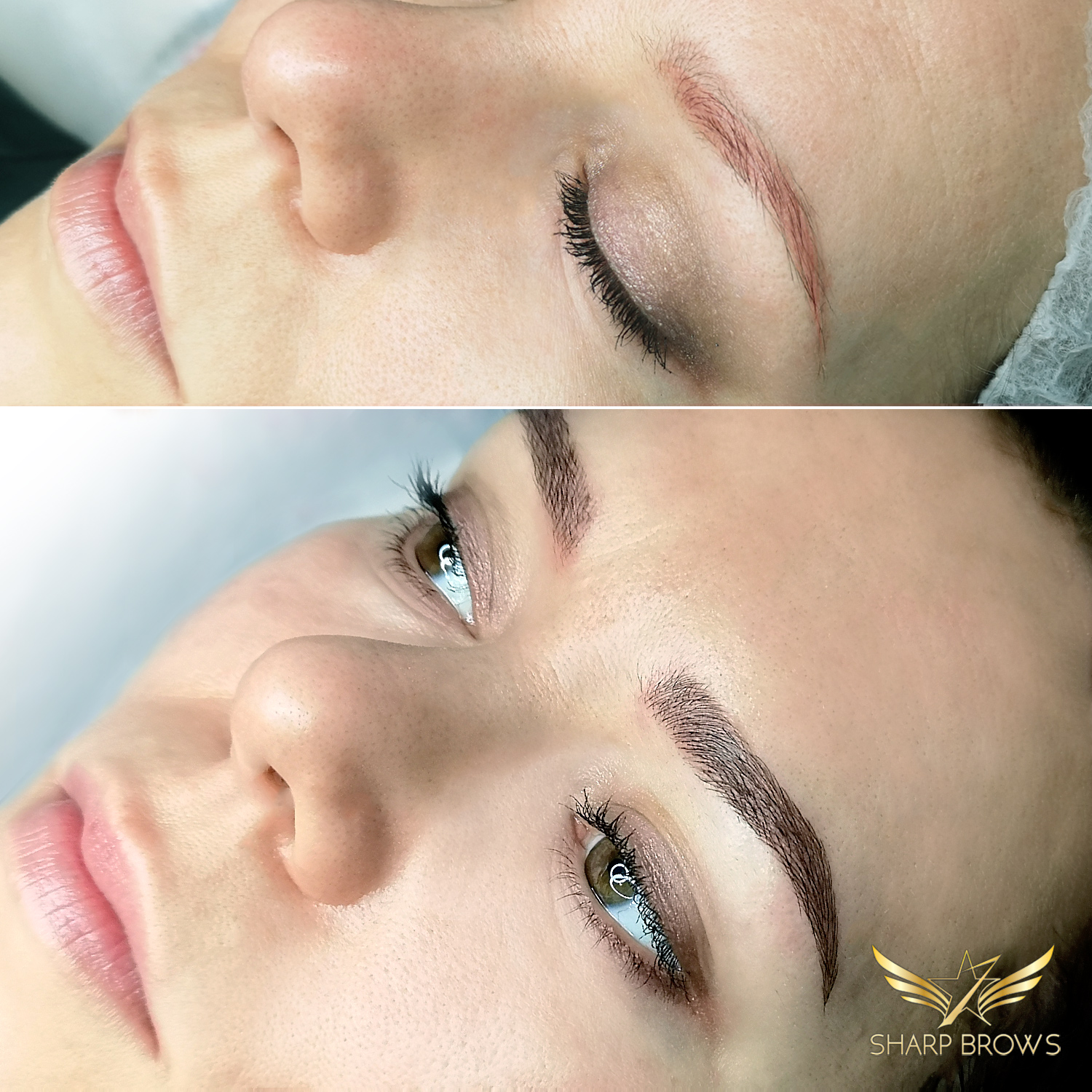 Light microblading. Ideal for fixing old pigmentation.