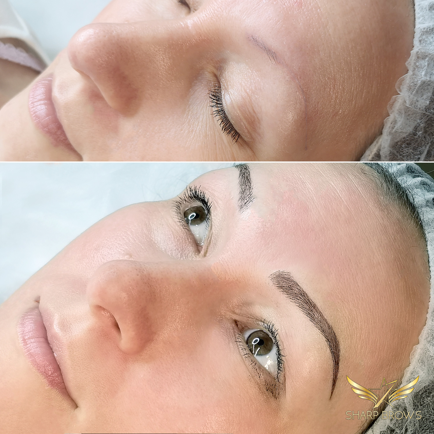Light microblading. Sometimes people say that it is possible to achieve miracles with Light microblading and they are correct.