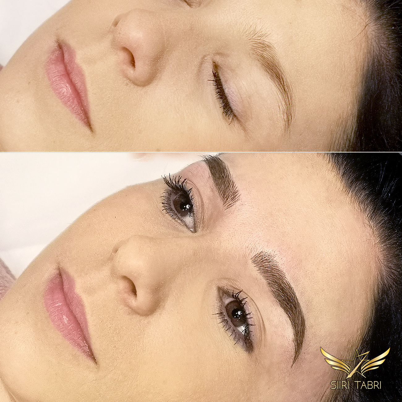 Light microblading. Reshaped and made stronger with Light microblading. Extremely natural results.