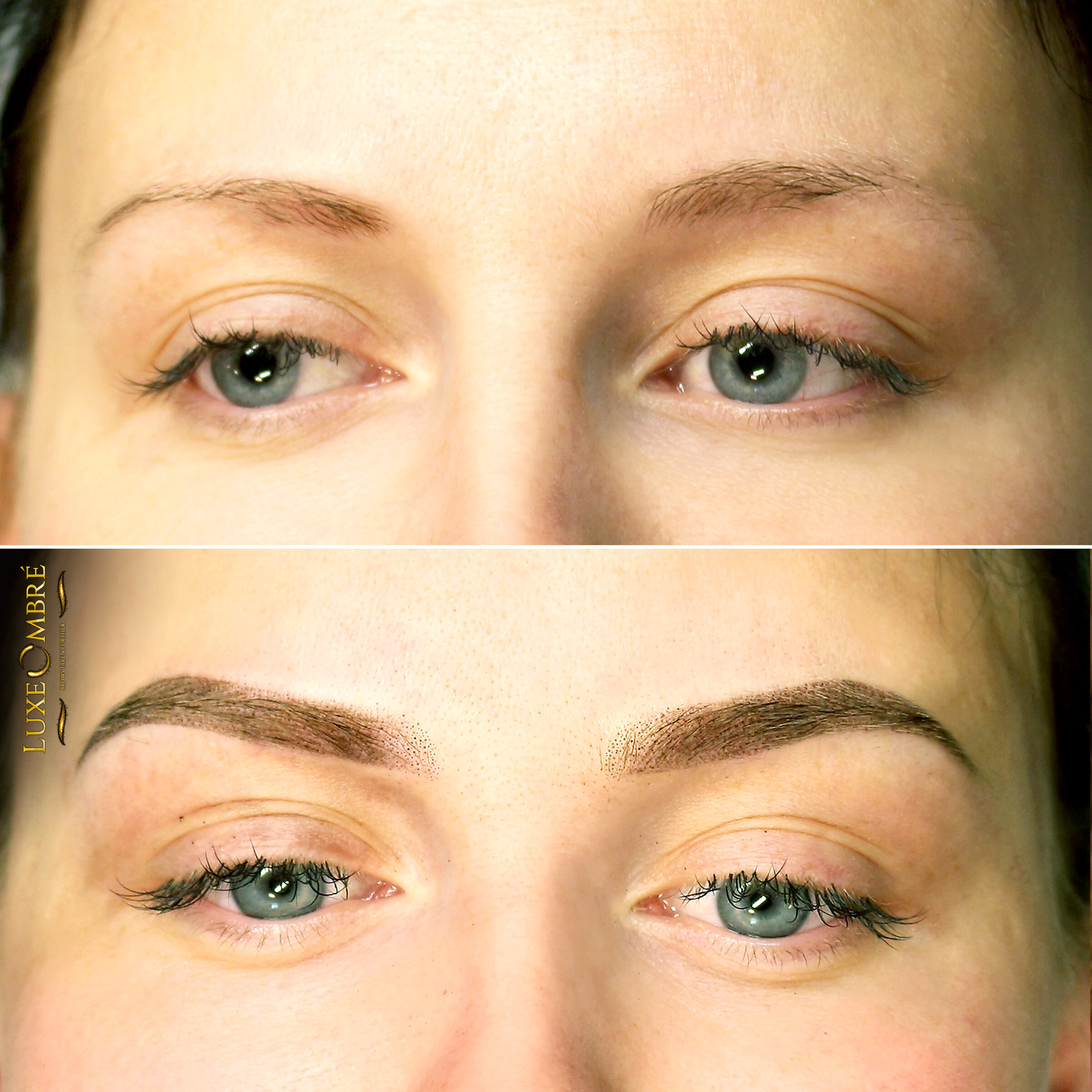 Supreme change when it comes to brow size and shape.