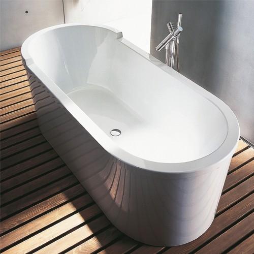 Frittstående Starck Badekar er et slående midtpunkt i ethvert moderne bad. Slitesterkakrylkonstruksjon som varer. varer l:160/180 b:800 h: 600