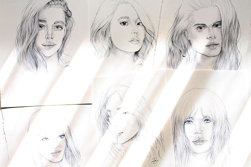 Drawings 9, 10, 11, 12, 13 & 14