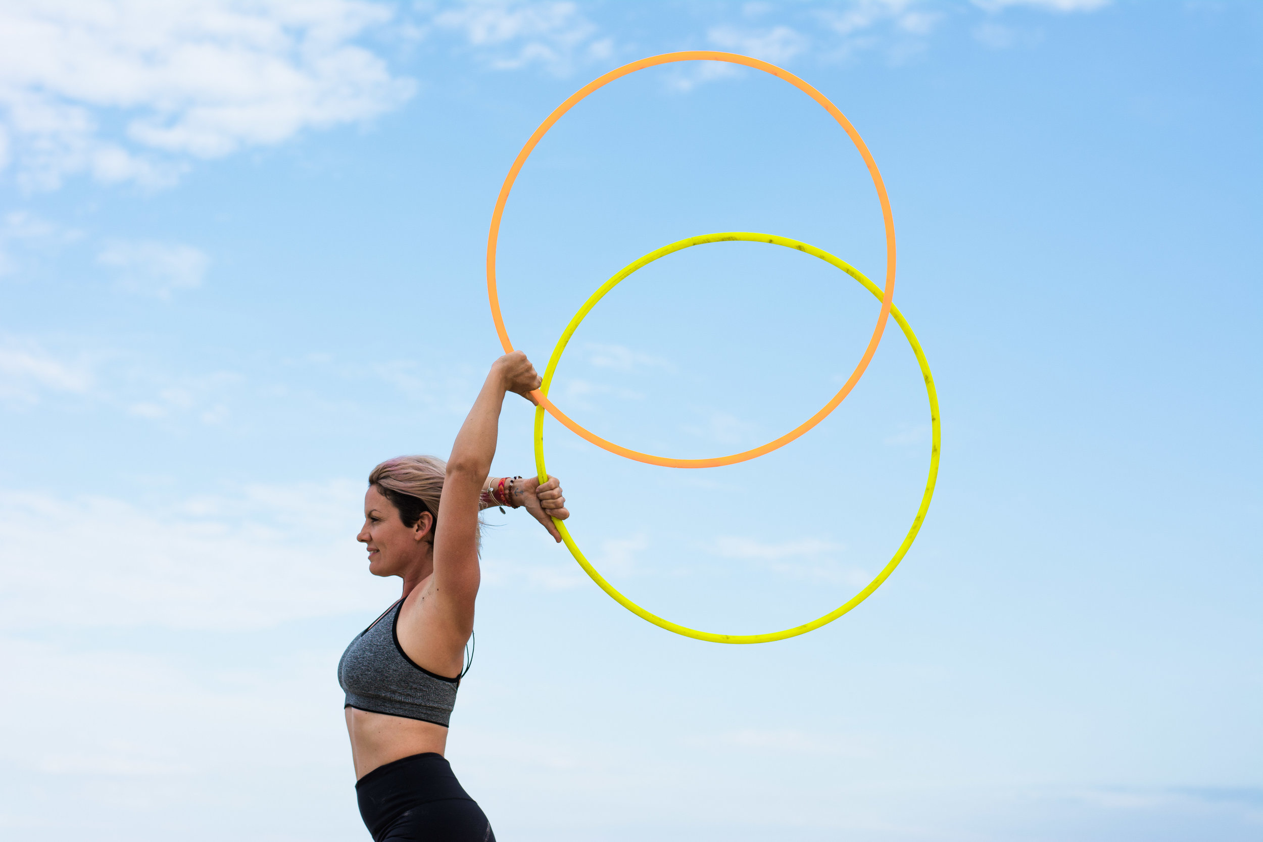 Hula Hoop dance Photography