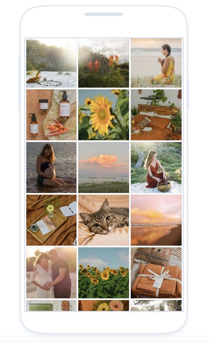 Planning your instagram grid